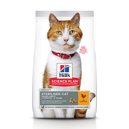 Hill's Science Plan Feline Young Adult Sterilised Chicken