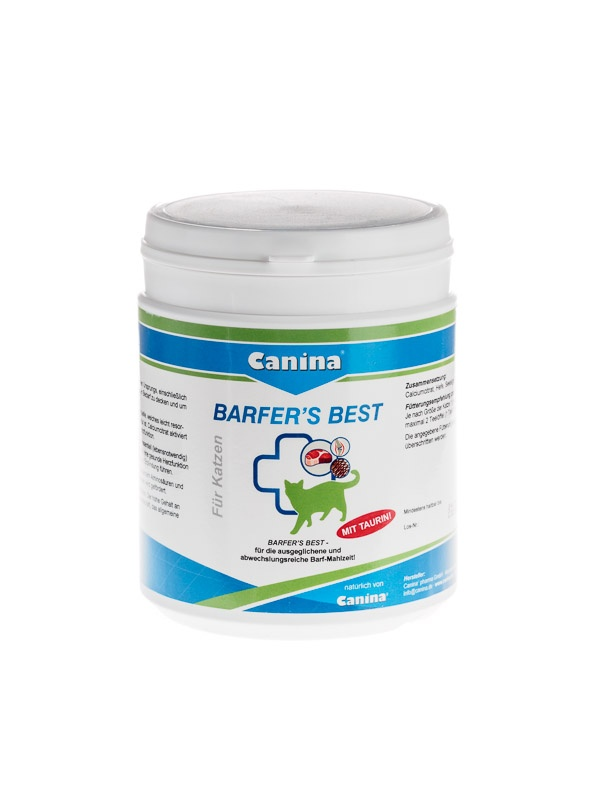 Barfer'S Best For Cats vitamin supplement